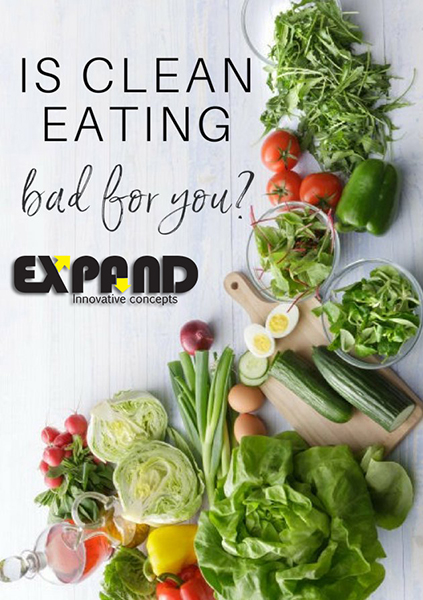 Clean eating can also entail looking more closely at where your food comes from
