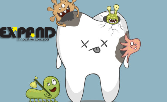 Sugar can cause tooth decay