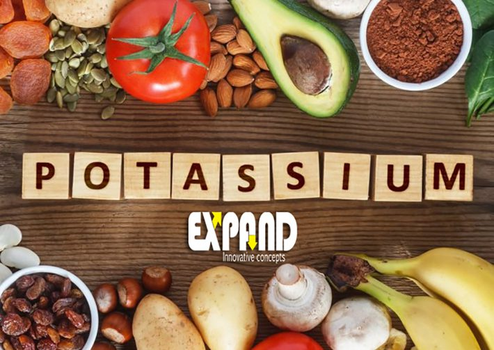 Potassium is a mineral that is found in most foods.