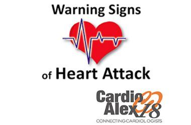 Warning signs of heart attack.